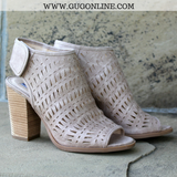 Not Rated Booties Short Ankle Boots Heeled Sandals