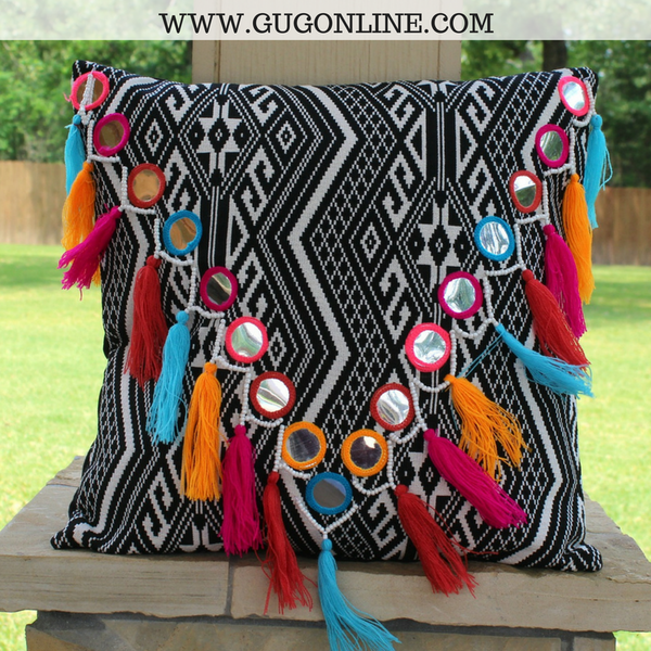 Aztec Print Pillows | Aztec Print Accessories | Southwest Print Pillows | Indian Inspired Fashions