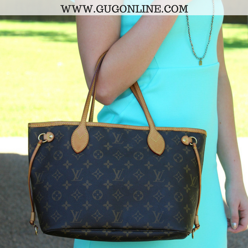 Authentic Used Louis Vuitton Neverfull PM In Monogram Giddy Up - Make a free invoice pdf online louis vuitton online store