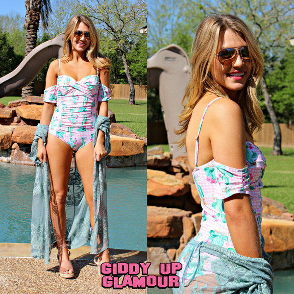 Cactus Clothing | Cactus Print Clothes | Cactus Swimsuits | Desert Rose Collection