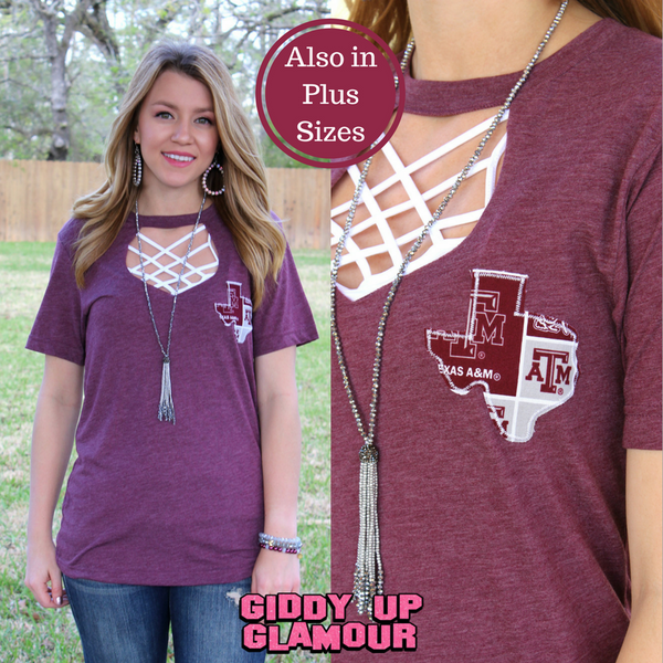 Gameday Couture Shirts | GameDay Aggie Tee Shirts | Game Day Couture Texas