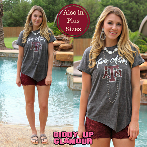 Game Day Collection: Knot So Basic Texas A&M Tee