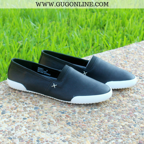 At A Moment's Notice Slip On Shoes in Black