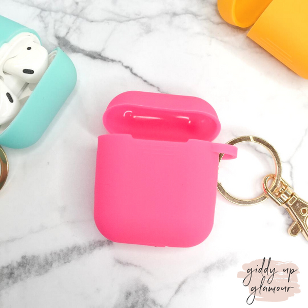 Protective AirPods Cover in Pink