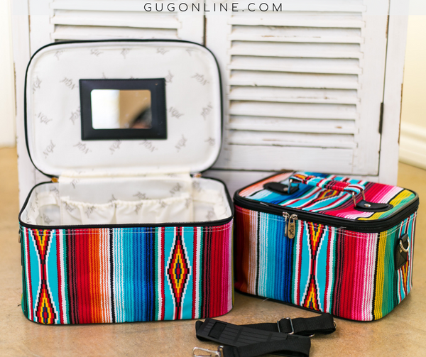 Serape Make-Up Case