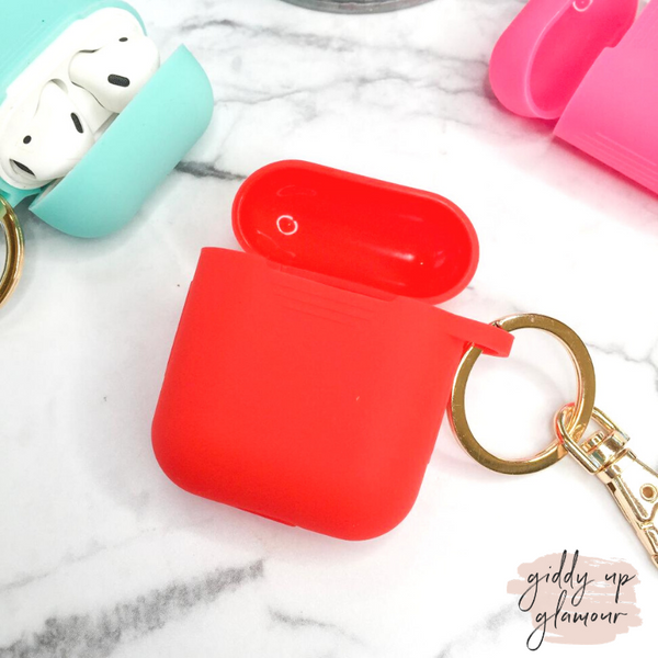 Protective AirPods Cover in Red