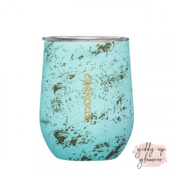 12 oz Corkcicle Origins Collection | Stemless - Bali Blue