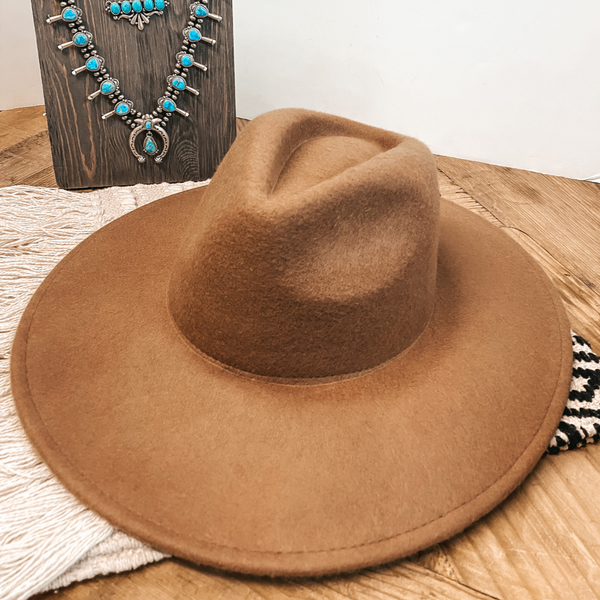 Amarillo Sky Classic Rancher Felt Hat in Tan