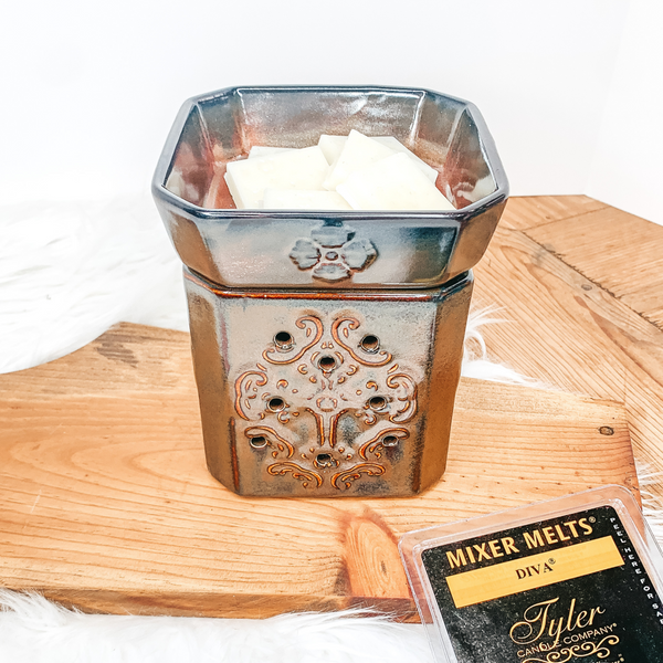 Tyler Candle Co. | Glory Aged Rust Fragrance Warmer