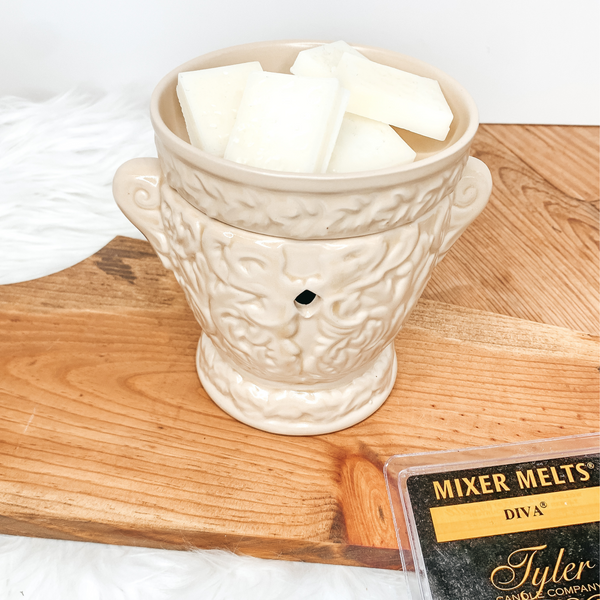 Tyler Candle Co. | Parisian Matte Linen Fragrance Warmer