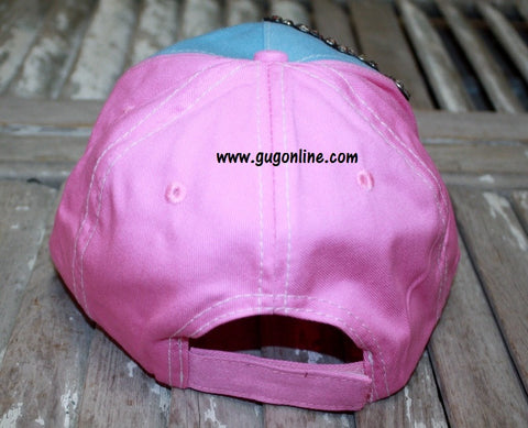 Cotton Candy and Crystal Baseball Cap
