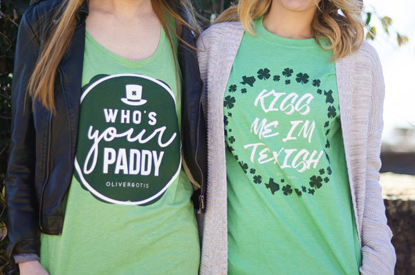 Who's Your Paddy St. Patrick's Day Tank Top