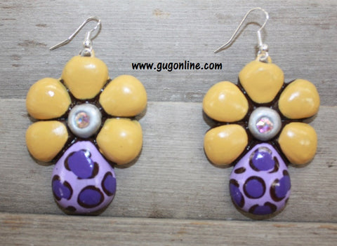 Dare To Dazzle Clay Earrings