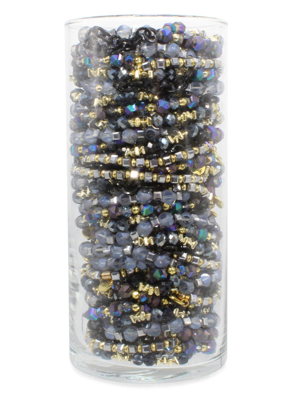 Erimish stackable crystal bracelets bracelet bar stack bracelet set Dolly