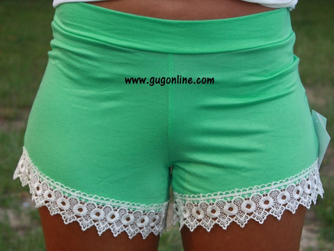 Everything Leads To You Shorts in Mint