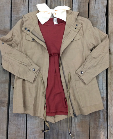 Childrens: New Standard Utility Jacket in Khaki