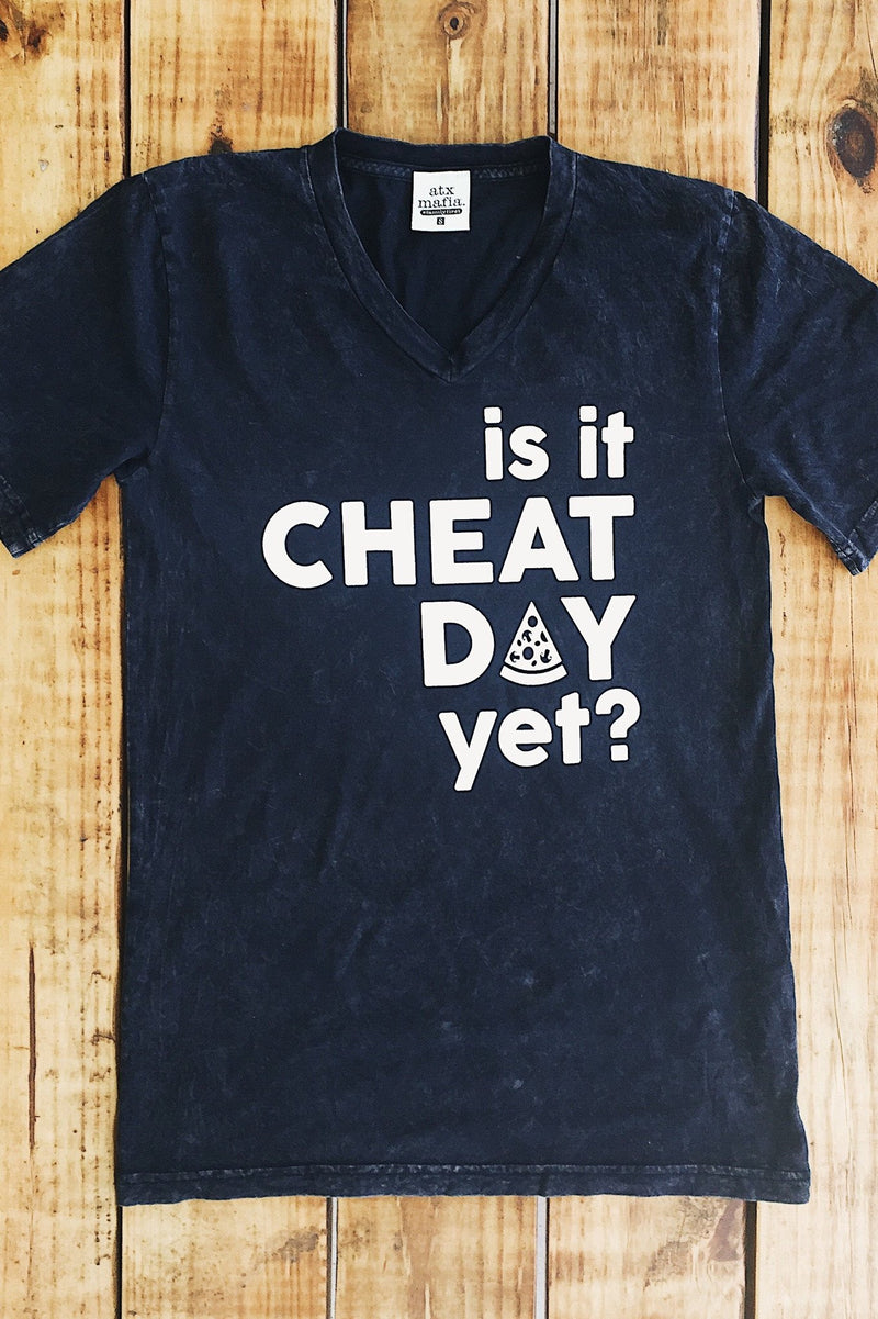Is It Cheat Day Yet Short Sleeve Tee Shirt