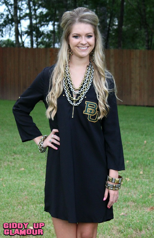 Game Day Collection: The Little Baylor Gameday Dress