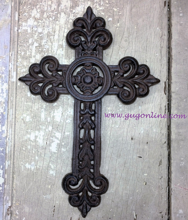 Cast Metal Wall Cross