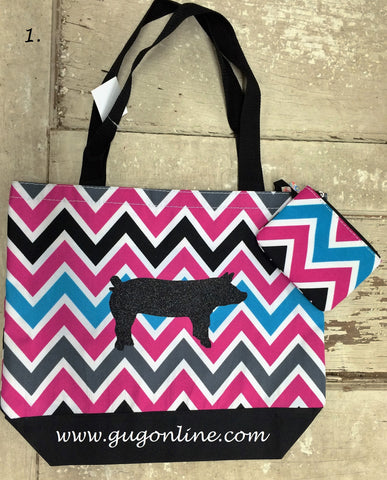 Chevron Livestock Bags - Multiple Options