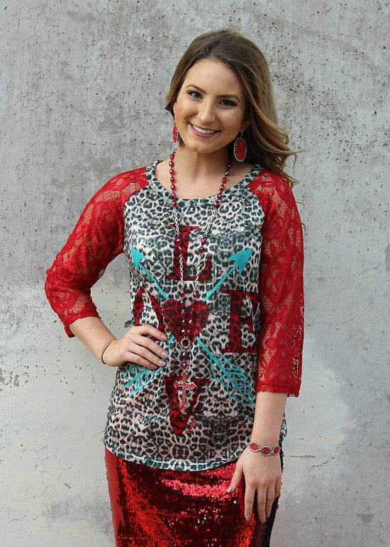 Valentines Day Shirts Missy Plus Size Women's