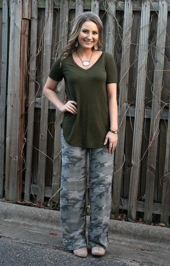 Sweet Dreams Lounge Pants in Camouflage