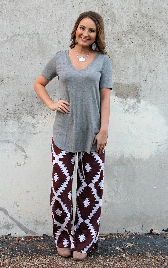 Aztec Print Clothes | Aztec Print Pants | Southwest Print Clothing | Indian Inspired Fashions