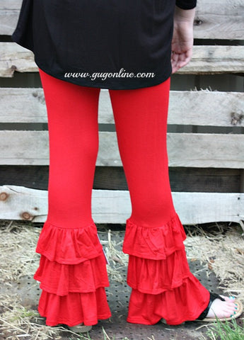 Girls Like Us Children's Pants in Red