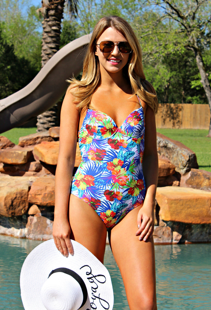 Tropical Paradise One Piece Swimsuit