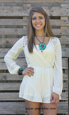 Something Sweet Lace Romper
