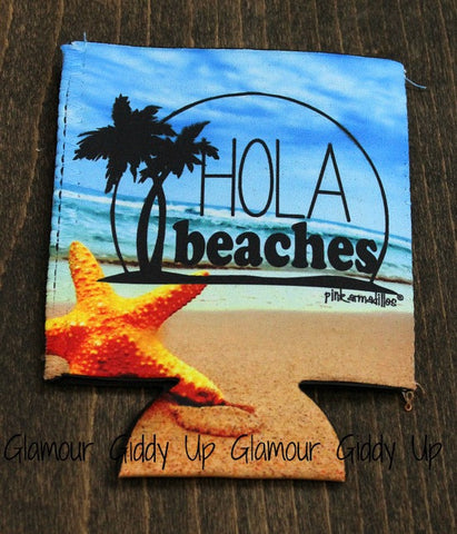 Hola Beaches Koozie