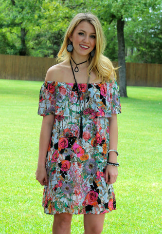 Call You Mine Floral Dress
