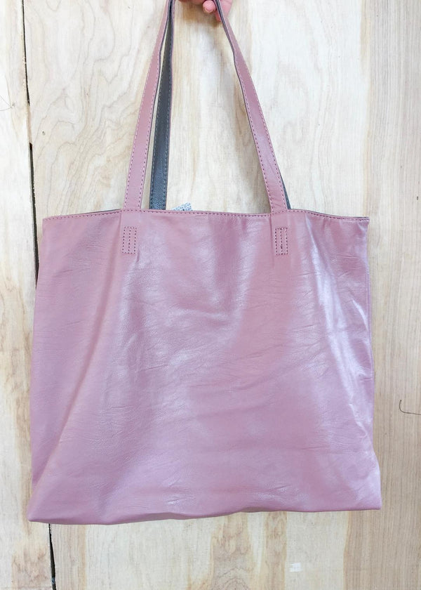 Better Than One Bag in Mauve and Gray