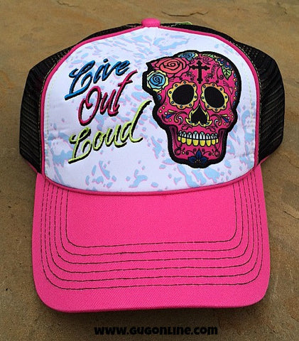 Gypsy Soule Live Out Loud Trucker Cap