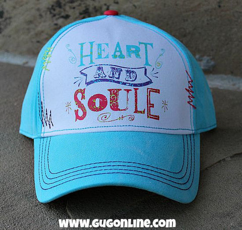 Gypsy Soule Heart and Soule Turquoise Baseball Cap