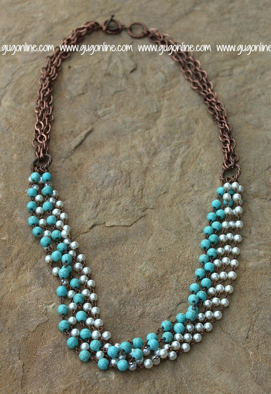 West And Co Necklaces Turquoise Strand Jewelry