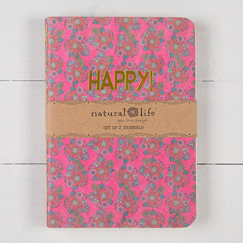 Set of Two Journals - Happy Yay