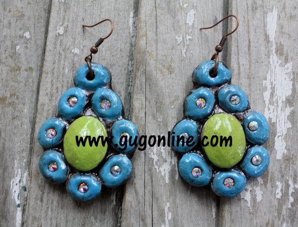 Polymer Clay Earrings Flower Jewelry