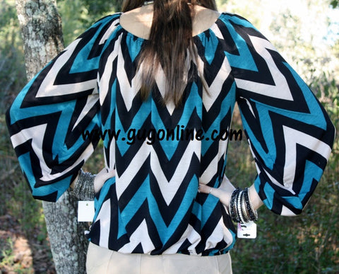 Let Me Chevron You Top