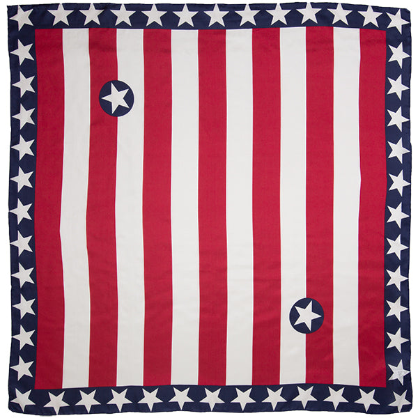 Liberty Wild Rag in Red, White, and Blue