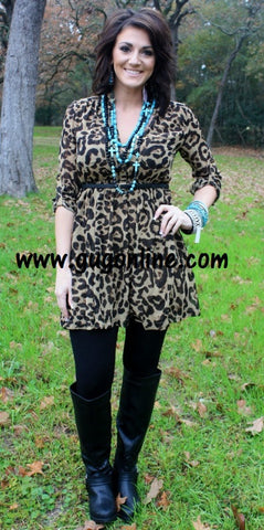 Lucky Leopard Dress