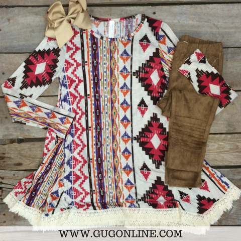 Crazy About Aztec Kid's Tunic
