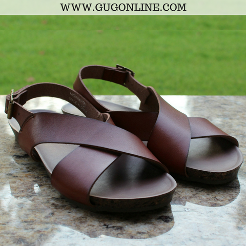 Highway Sandals in Brown