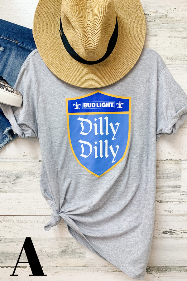 BUD LIGHT | Dilly Dilly Graphic Tees in Variety of Styles