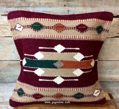 Pueblo Palace Southwest Wool Accent Pillow