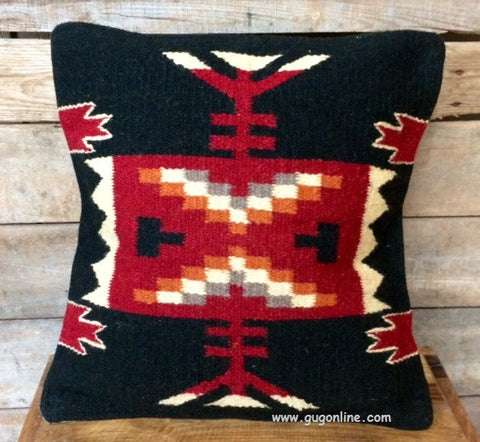Pueblo Palace Southwest Wool Accent Pillow Cover