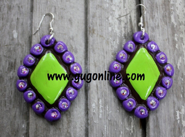 Polymer Clay Earrings Hippie Jewelry