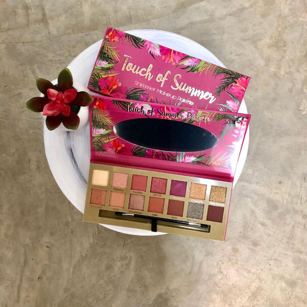 Touch of Summer Shimmer Eyeshadow Palette