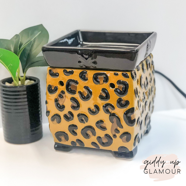 Tyler Candle Co. | Grandeur Leopard Fragrance Warmer
