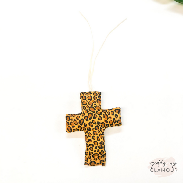 Leopard Cross Freshie - Leather